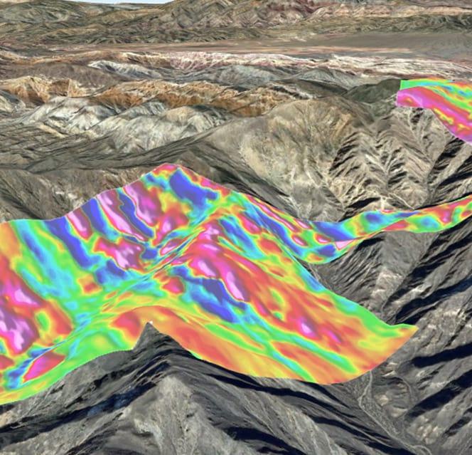 topografía con magnetometría 1